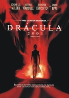 Dracula 2000 - Argentinian DVD movie cover (xs thumbnail)