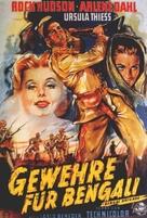 Bengal Brigade - German Movie Poster (xs thumbnail)