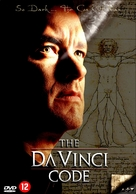 The Da Vinci Code - Dutch DVD cover (xs thumbnail)