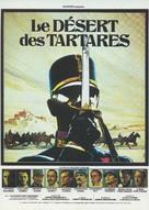 Il deserto dei Tartari - French Movie Poster (xs thumbnail)
