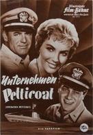 Operation Petticoat - German poster (xs thumbnail)