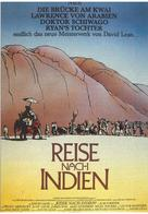 A Passage to India - German Movie Poster (xs thumbnail)