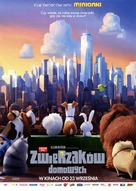 The Secret Life of Pets - Polish Movie Poster (xs thumbnail)