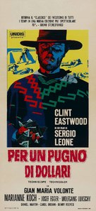 Per un pugno di dollari - Italian Movie Poster (xs thumbnail)
