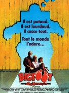 Harry and the Hendersons - French Movie Poster (xs thumbnail)