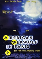 An American Werewolf in Paris - German Movie Poster (xs thumbnail)