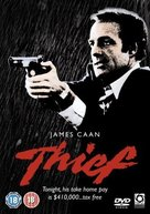 Thief - British DVD movie cover (xs thumbnail)