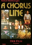 A Chorus Line - German Movie Poster (xs thumbnail)