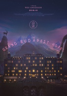 The Grand Budapest Hotel - South Korean Movie Poster (xs thumbnail)