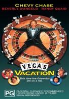 Vegas Vacation - Australian DVD movie cover (xs thumbnail)