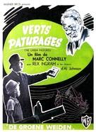 The Green Pastures - Belgian Movie Poster (xs thumbnail)