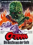 Octaman - German Movie Poster (xs thumbnail)
