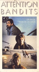 Attention bandits! - French VHS cover (xs thumbnail)