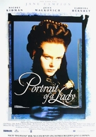 The Portrait of a Lady - German Movie Poster (xs thumbnail)