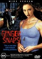 Ginger Snaps - Australian DVD cover (xs thumbnail)