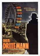 The Third Man - German Movie Poster (xs thumbnail)