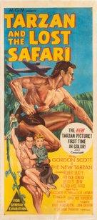 Tarzan and the Lost Safari - Australian Movie Poster (xs thumbnail)