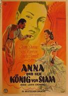 Anna and the King of Siam - German Movie Poster (xs thumbnail)