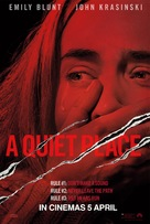 A Quiet Place - Singaporean Movie Poster (xs thumbnail)