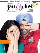 Jatt & Juliet - Indian Movie Poster (xs thumbnail)