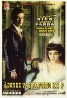 ¿Dónde vas, Alfonso XII? - Spanish Movie Poster (xs thumbnail)