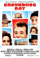 Groundhog Day - Video release movie poster (xs thumbnail)