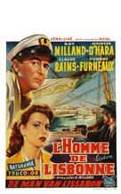 Lisbon - Belgian Movie Poster (xs thumbnail)