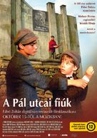 A Pál-utcai fiúk - Hungarian Movie Poster (xs thumbnail)