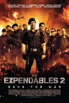 The Expendables 2 - Danish Movie Poster (xs thumbnail)