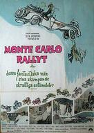 Monte Carlo or Bust - Swedish Movie Poster (xs thumbnail)