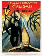 Das Cabinet des Dr. Caligari. - French Movie Poster (xs thumbnail)