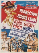 Mister Roberts - French Movie Poster (xs thumbnail)