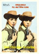 Dos pistolas gemelas - Spanish Movie Poster (xs thumbnail)