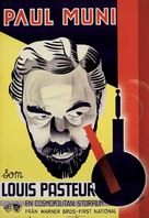 The Story of Louis Pasteur - Swedish Movie Poster (xs thumbnail)