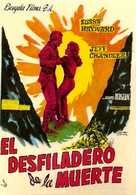 Thunder in the Sun - Spanish Movie Poster (xs thumbnail)