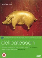 Delicatessen - British DVD cover (xs thumbnail)