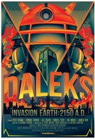 Daleks' Invasion Earth: 2150 A.D. - British Movie Poster (xs thumbnail)