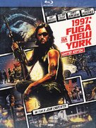 Escape From New York - Italian Blu-Ray cover (xs thumbnail)