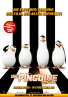 Penguins of Madagascar - German Movie Poster (xs thumbnail)