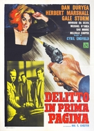 The Underworld Story - Italian Movie Poster (xs thumbnail)