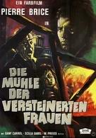 Il mulino delle donne di pietra - German Movie Poster (xs thumbnail)