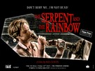 The Serpent and the Rainbow - British Re-release movie poster (xs thumbnail)