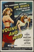 Young and Wild - Theatrical movie poster (xs thumbnail)