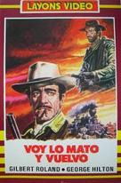 Vado... l'ammazzo e torno - Spanish Movie Cover (xs thumbnail)