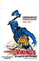 Ultimo dei Vikinghi, L' - French Movie Poster (xs thumbnail)