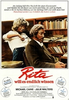 Educating Rita - German Movie Poster (xs thumbnail)