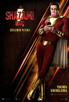 Shazam! - Turkish Movie Poster (xs thumbnail)