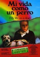 Mitt liv som hund - Spanish Movie Poster (xs thumbnail)