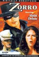 Zorro - DVD cover (xs thumbnail)