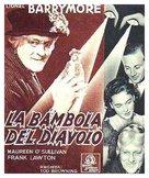 The Devil-Doll - Italian Movie Poster (xs thumbnail)